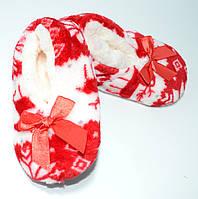 Носки-тапочки детские с подошвой