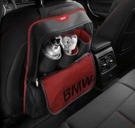 Карман-сумка для спинки сиденья BMW Sport Line Red, артикул 52122219889