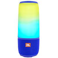 ☜Колонка BL JBL Pulse 3 Blue Блютуз портативная сенсор Li-ion Speakerphone AUX USB TF