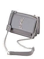 4ad695f94aad Женская сумка-клатч на цепочке копия YSL Yves Saint Laurent качественная эко -кожа дорогой