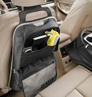 Кишеня-сумка для спинки сидіння BMW Urban Line Grey, артикул 52122219891