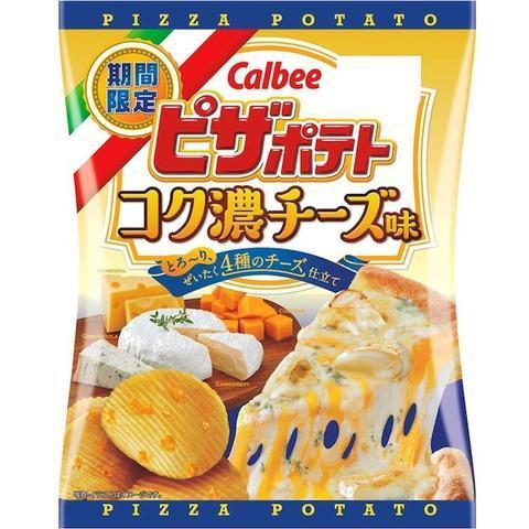 Чипсы Calbee Cheese Pizza Potato Chips