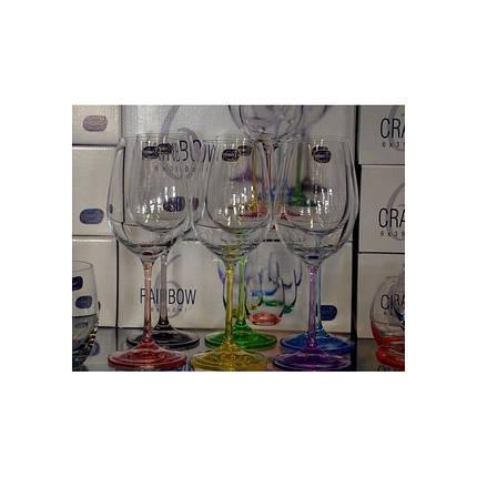 """Набор бокалов для вина """"Rainbow"""", 350ml, 40729350SD4641 /П2, фото 2"""
