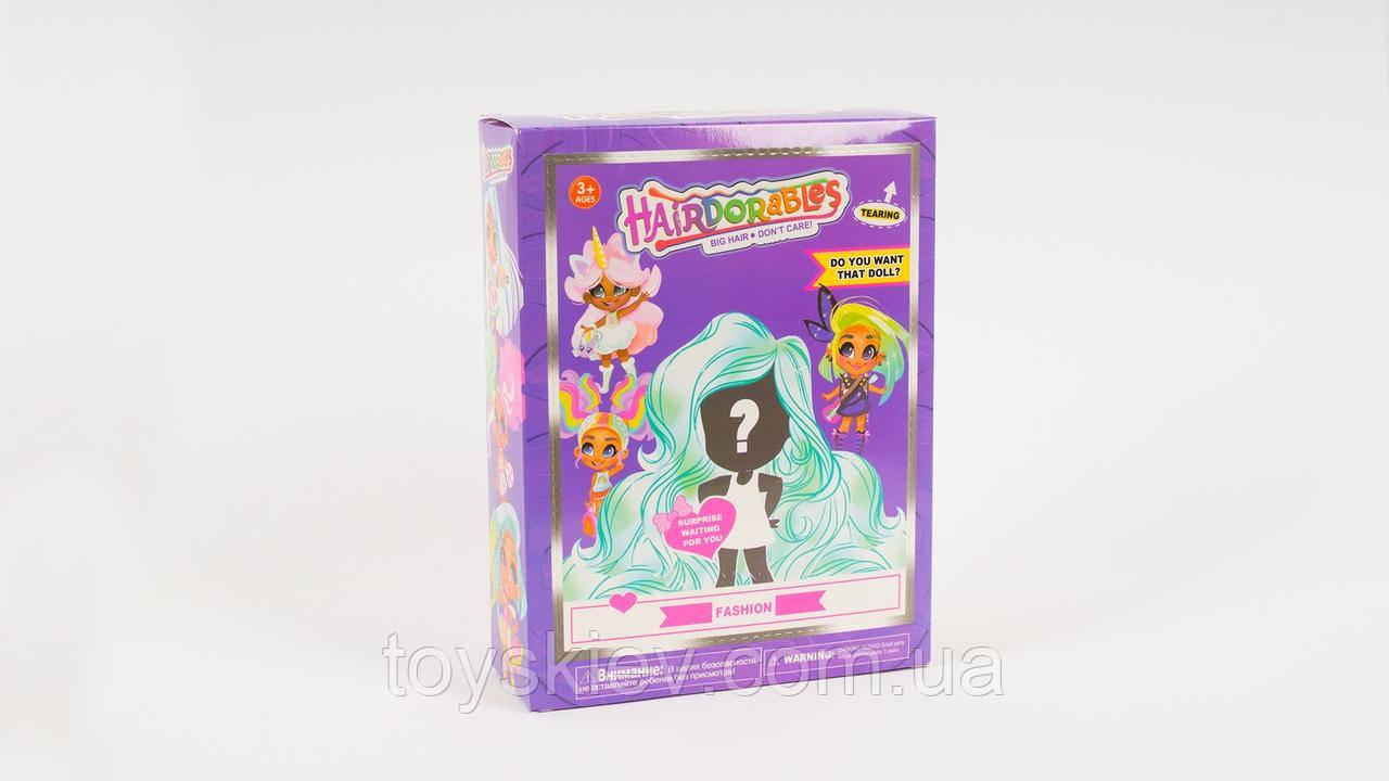 Hairdorables Dolls Хэрдораблс Куколки Сюрприз с роскошными волосами. аналог