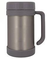 Пищевой термос Stenson Grafit 500мл MT-2677