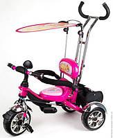 Велосипед трехколесный Profi Trike Eva Foam WinX pink (M 5339)