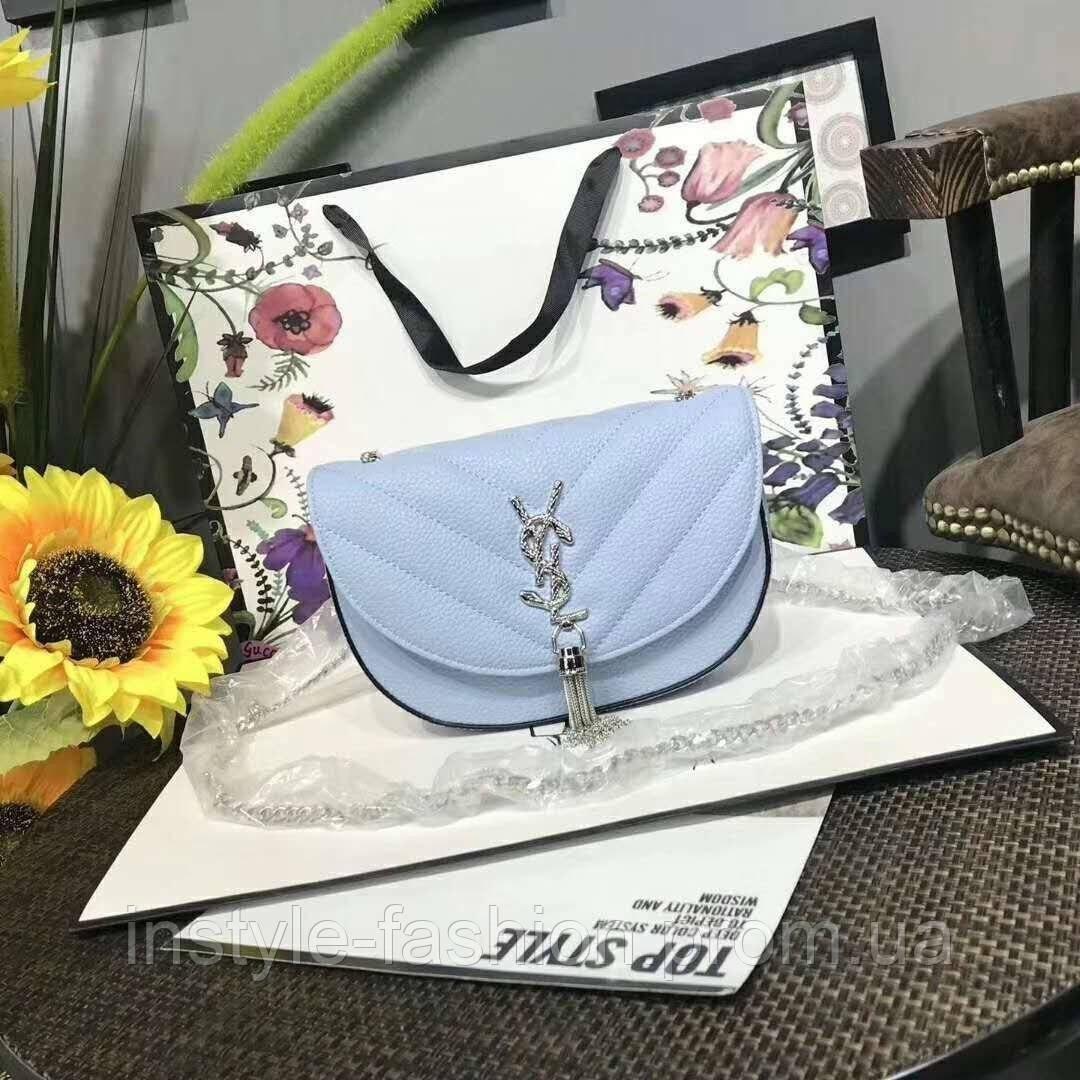 5518d03731e9 Женский модный клатч на цепочке копия YSL Yves Saint Laurent качественная  эко-кожа дорогой Китай