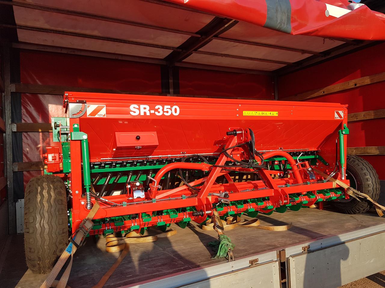 Сівалка зернова 3.5 м Agro-Masz SR350 сеялка (Дводисковий сошник)