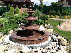 Садовые фонтаны из гранита, фото 2
