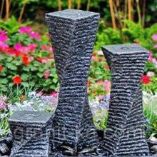 Садовые фонтаны из гранита