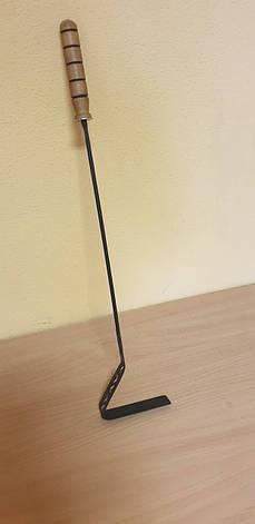 Кочерга с деревянной ручкой, фото 2