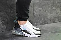 Мужские кроссовки Nike Air Max 270 сетка,белые с черным 40р, фото 2