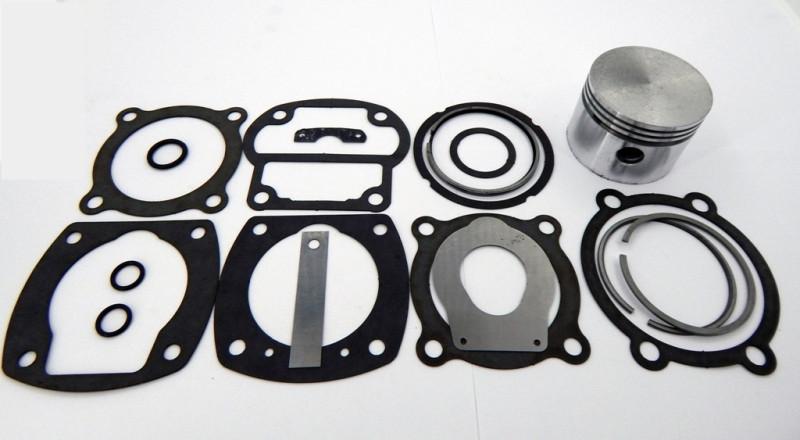 Ремкомплект компрессора номинального размера (с лепестковыми клапанами)  МТЗ, ПАЗ с воздушным охлаждением
