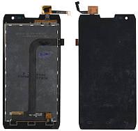 Дисплей + сенсор Doogee DG700 TitanS2 черный (100% оригинал)
