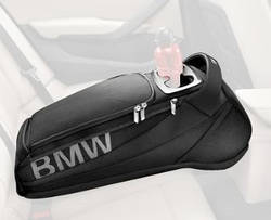 Сумка-підлокітник BMW Rear Car Seat Storage Travel Bag Black, артикул 52212303027