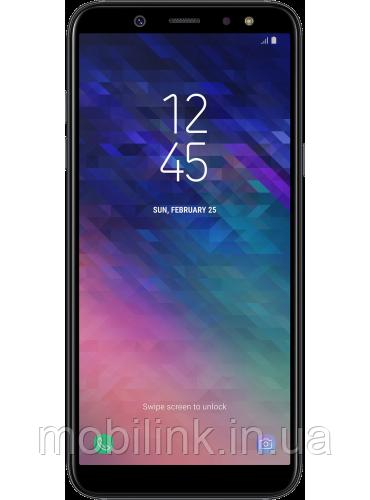 Смартфон Samsung Galaxy A6 SM-A600F Black