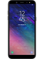 Смартфон Samsung Galaxy A6 SM-A600F Black, фото 1