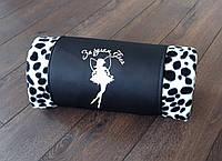 """Плед флисовый """"Долматинец"""" в футляре. Размер пледа: 150х180 см. Плед в машину, оригинальный подарок. Цвета, фото 1"""