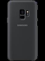 Чехол Samsung Silicone Cover Black для Galaxy S9 G960, фото 1