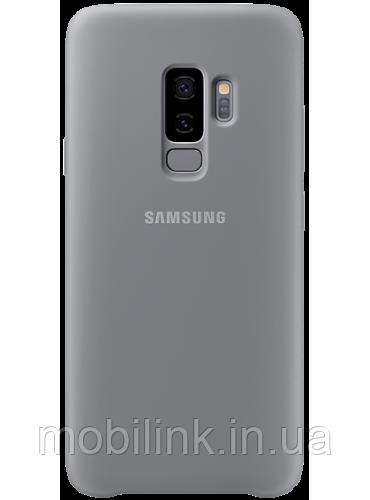 Чехол Samsung Silicone Cover Gray для Galaxy S9+ G965