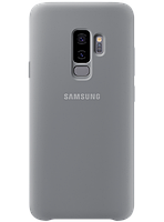Чехол Samsung Silicone Cover Gray для Galaxy S9+ G965, фото 1