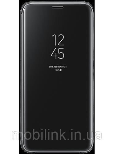 Чехол Samsung Clear View Standing Cover Black для Galaxy S9 G960