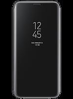 Чехол Samsung Clear View Standing Cover Black для Galaxy S9 G960, фото 1