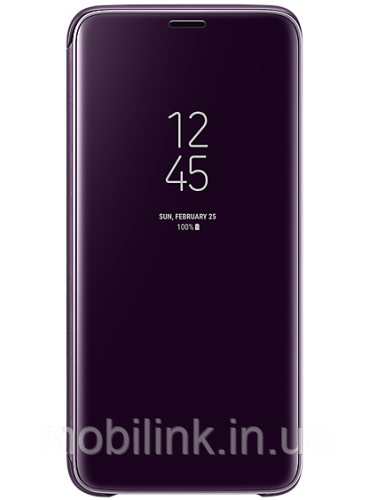 Чехол Samsung Clear View Standing Cover Orchid Gray для Galaxy S9 G960