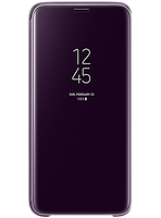 Чехол Samsung Clear View Standing Cover Orchid Gray для Galaxy S9 G960, фото 1