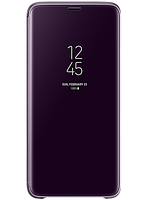 Чехол Samsung Clear View Standing Cover Orchid Gray для Galaxy S9+ G965, фото 1