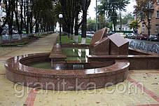 Садово парковые фонтаны из гранита, фото 3