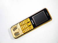 "Телефон Nokia S830 Золото - 1.8"" -2Sim - Fm - Bt - Camera - с двумя аккумуляторами BL-4C"