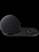 Беспроводное зарядное устройство Samsung Wireless Charger Duo EP-N6100 Black, фото 1