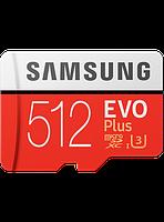 Карта памяти Samsung microSDXC 512GB EVO Plus Class 10 UHS-I U3 (MB-MC512GA/RU), фото 1