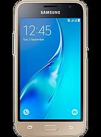 Смартфон Samsung Galaxy J1 (2016) SM-J120H Gold, фото 1