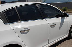 Окантовка стёкол Chevrolet Cruze HB
