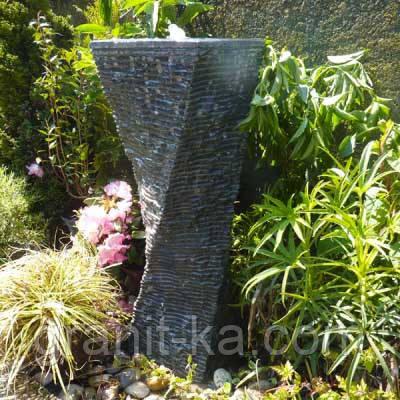 Декоративные фонтаны из гранита
