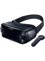 Очки виртуальной реальности Samsung Gear VR SM-R324NZAASEK + controller, фото 1