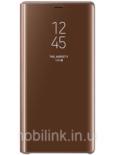 Чехол Samsung Clear View Standing Cover Brown для Galaxy Note 9 N960