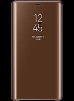Чехол Samsung Clear View Standing Cover Brown для Galaxy Note 9 N960, фото 1
