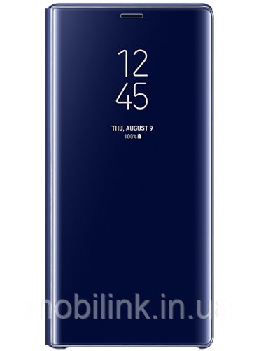 Чехол Samsung Clear View Standing Cover Blue для Galaxy Note 9 N960