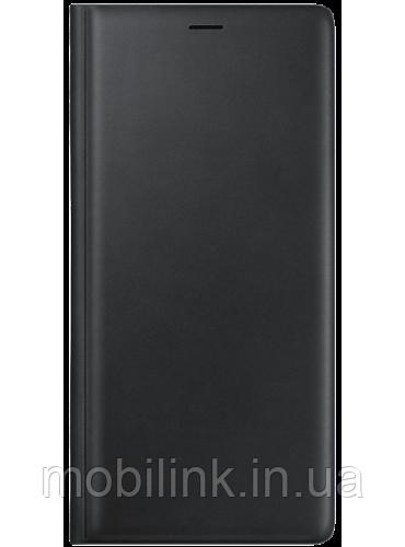 Чехол Samsung Leather Wallet Cover Black для Galaxy Note 9 N960