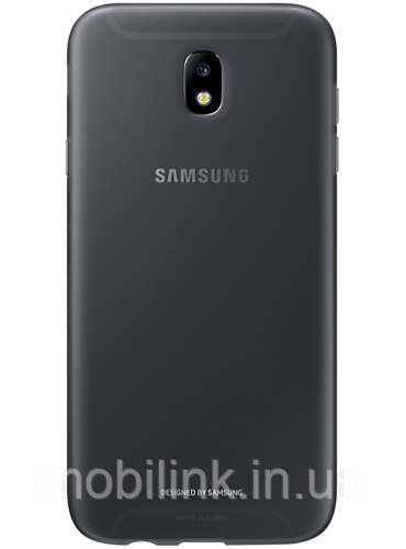 Чехол Samsung Jelly Cover EF-AJ730TBEGRU Black для Galaxy J7 (2017) J730