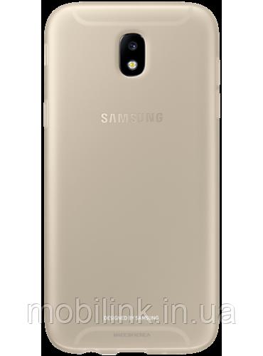 Чехол Samsung Jelly Cover EF-AJ530TFEGRU Gold для Galaxy J5 (2017) J530