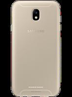 Чехол Samsung Jelly Cover EF-AJ730TFEGRU Gold для Galaxy J7 (2017) J730, фото 1
