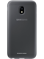 Чехол Samsung Jelly Cover EF-AJ330TBEGRU Black для Galaxy J3 (2017) J330, фото 1