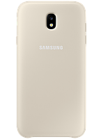 Чехол Samsung Dual Layer Cover EF-PJ730CFEGRU Gold для Galaxy J7 (2017) J730, фото 1