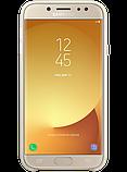 Чехол Samsung Dual Layer Cover EF-PJ730CFEGRU Gold для Galaxy J7 (2017) J730, фото 3