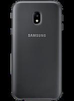 Чехол Samsung Dual Layer Cover EF-PJ330CBEGRU Black для Galaxy J3 (2017) J330, фото 1