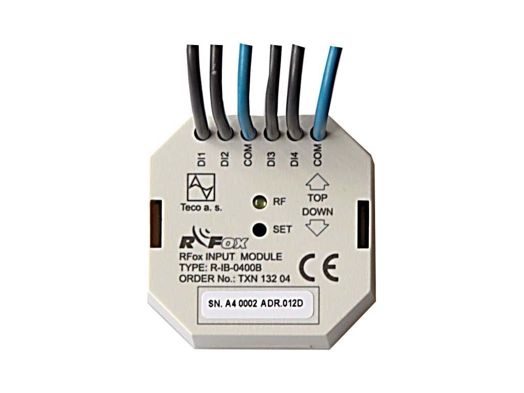 RFox модуль с 4x DI для беспотенциальныих контактов R-IB-0400B
